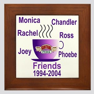 Friends TV Show Framed Tile