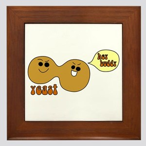 Yeast Buddies Framed Tile
