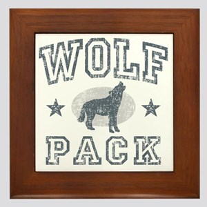 The Wolfpack Framed Tile