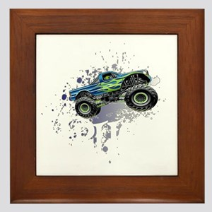 Monster_Truck_Light_cp Framed Tile