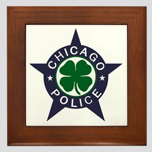 Chicago Police Irish Framed Tile