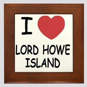 LORD_HOWE_ISLAND Framed Tile