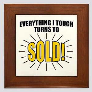 Everything I touch turns to SOLD! Framed Tile
