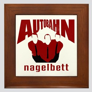 Autobahn Framed Tile
