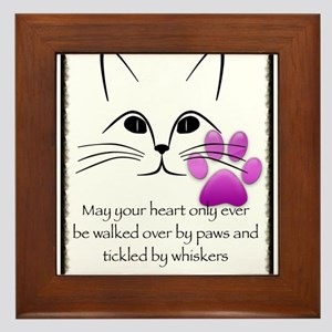 May your heart Framed Tile