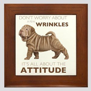 attitude2 Framed Tile