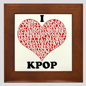 ilovekpop Framed Tile