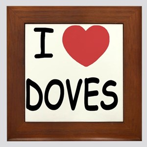 DOVES Framed Tile