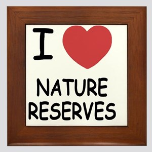 NATURE_RESERVES Framed Tile