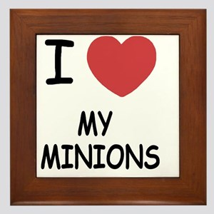 MY_MINIONS Framed Tile