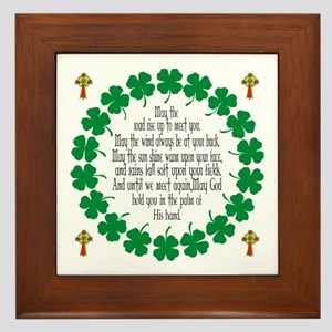 Irish Prayer Blessing Framed Tile