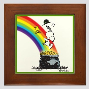 Pot O' Gold Framed Tile