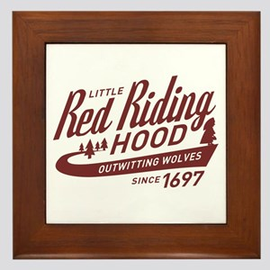 Little Red Riding Hood Since 1697 Framed Tile