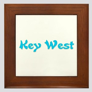 Key West Framed Tile