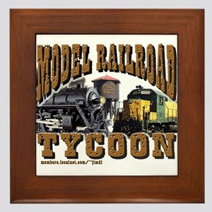 Model Railroad Tycoon - Framed Tile