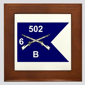 B Co. 6/502nd Framed Tile
