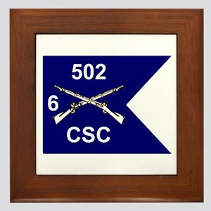 CSC 6/502nd Framed Tile
