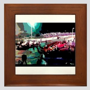 Nostalgia Night Drags Framed Tile