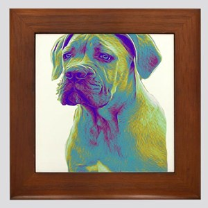 Cane Corso Dog Framed Tile