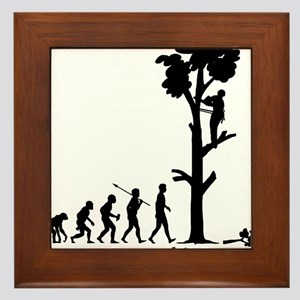 Tree-Trimmer Framed Tile