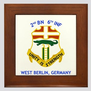 2nd BN 6th INF Gear Framed Tile