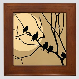 THE FLOCK Framed Tile