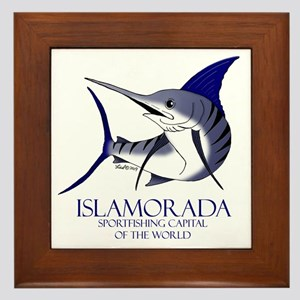 Islamorada Framed Tile