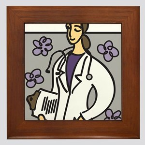Medicine Framed Tile