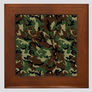 camo Framed Tile