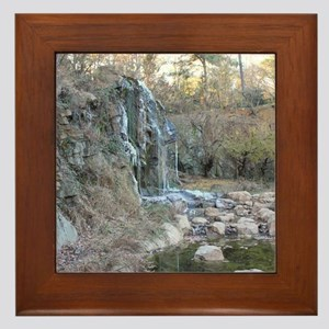 Bearly Iced Waterfall Framed Tile
