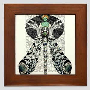 Dragon Lady Framed Tile