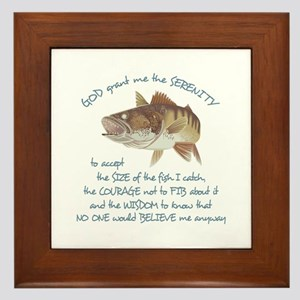 A FISHERMANS PRAYER Framed Tile