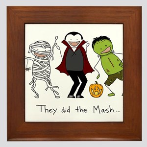 Monster Mash - Halloween Framed Tile