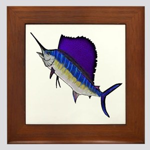 SAILFISH Framed Tile
