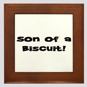 Son of  Biscuit! Framed Tile