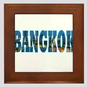 Bangkok Framed Tile