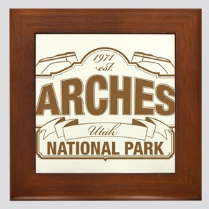 Arches National Park Framed Tile
