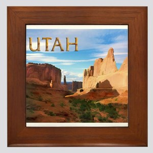 Utah smaller Framed Tile