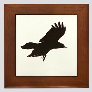 Crow Framed Tile