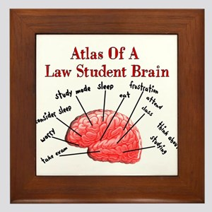 Law Student Framed Tile