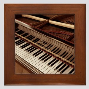 Piano Framed Tile