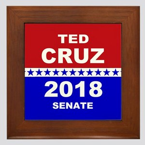 Ted Cruz Senate 2018 Framed Tile