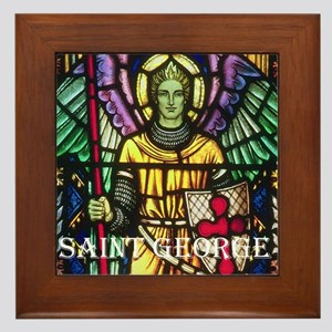 St George Framed Tile