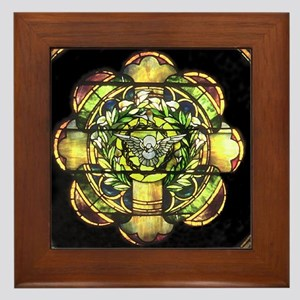 Holy Spirit Framed Tile