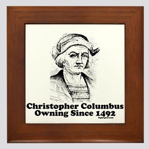 Columbus Framed Tile
