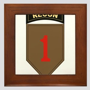 1st ID Recon Framed Tile
