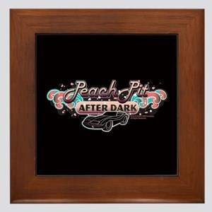 90210 Peach Pit After Dark Framed Tile