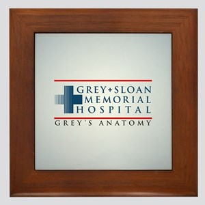 Grey Sloan Memorial Hospital Framed Tile