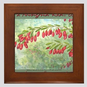 wolfberry YL Framed Tile