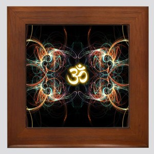 om poster Framed Tile